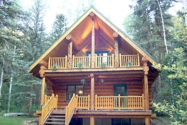 Cabins on Blue Ox Logcrafters Offer Several Styles Of Handcrafted Log Homes