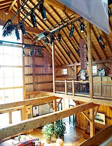 Blue Ox Logcrafters provides full timber-framed homes
