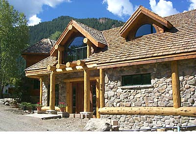 Hand Crafted Log Home By Blue Ox Logcrafters Full Scribe
